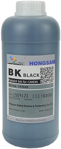 Чернила DCTec iPF6400/iPF8400 Photo Black (BK) 1000 мл пигмент (серия 193640 / 193540)