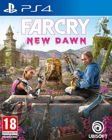 Sony PS4 Far Cry: New Dawn (русская версия)