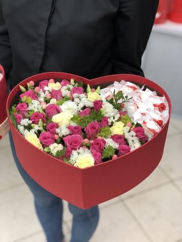 Цветы и Raffaello #15221