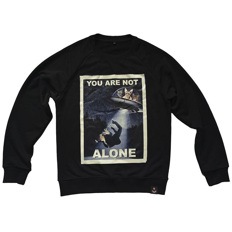 You are not alone / свитшот