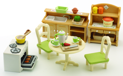 Набор «Кухня в коттедже» Sylvanian families 5033 (2951)
