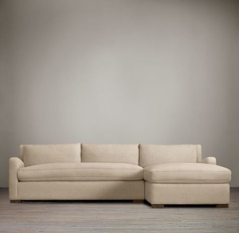 Belgian Slope Arm Right-Arm Sofa Chaise Sectional