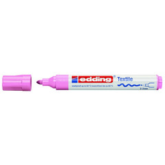 Маркер для текстиля Edding E-4500, розовый_009
