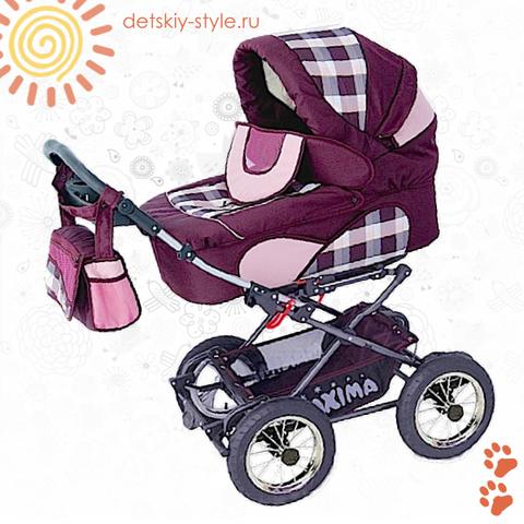 """Коляска Stroller B&E """"Maxima Mega"""" 3в1"""