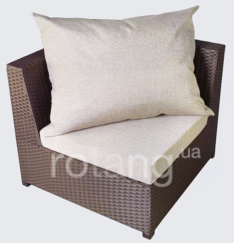 """Угловой элемент """"Ибица"""" с подушками"""