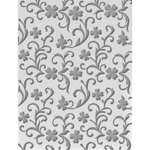 Папка для тиснения Ultimate Crafts Embossing Folder A2 -Clover Garden