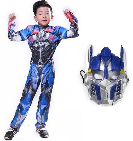 Трансформеры костюм детский Оптимус Прайм