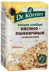 """Хлебцы """"Dr. Korner"""" овсяно-пшеничные со смесью семян 100 г"""