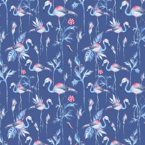 Зимние фламинго