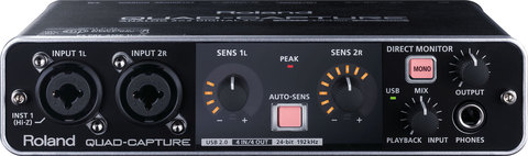 Roland UA-55 Quad-Capture — USB-аудио интерфейс