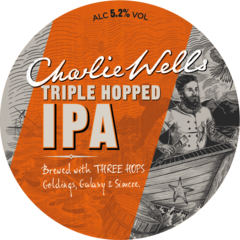 Пиво Charlie Wells Triple Hopped IPA