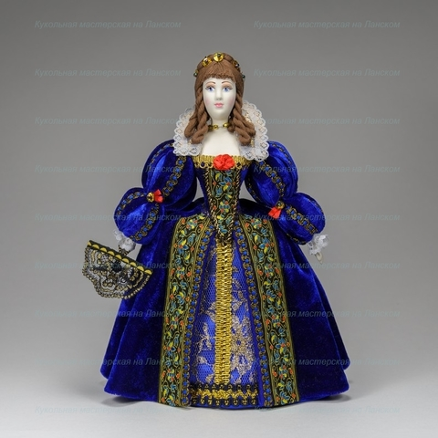 Кукла в костюме 16 века