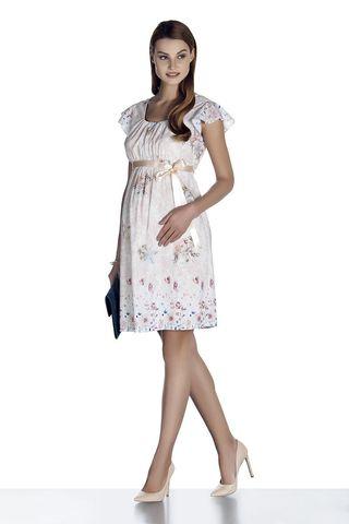 Платье для беременных 08481 экри