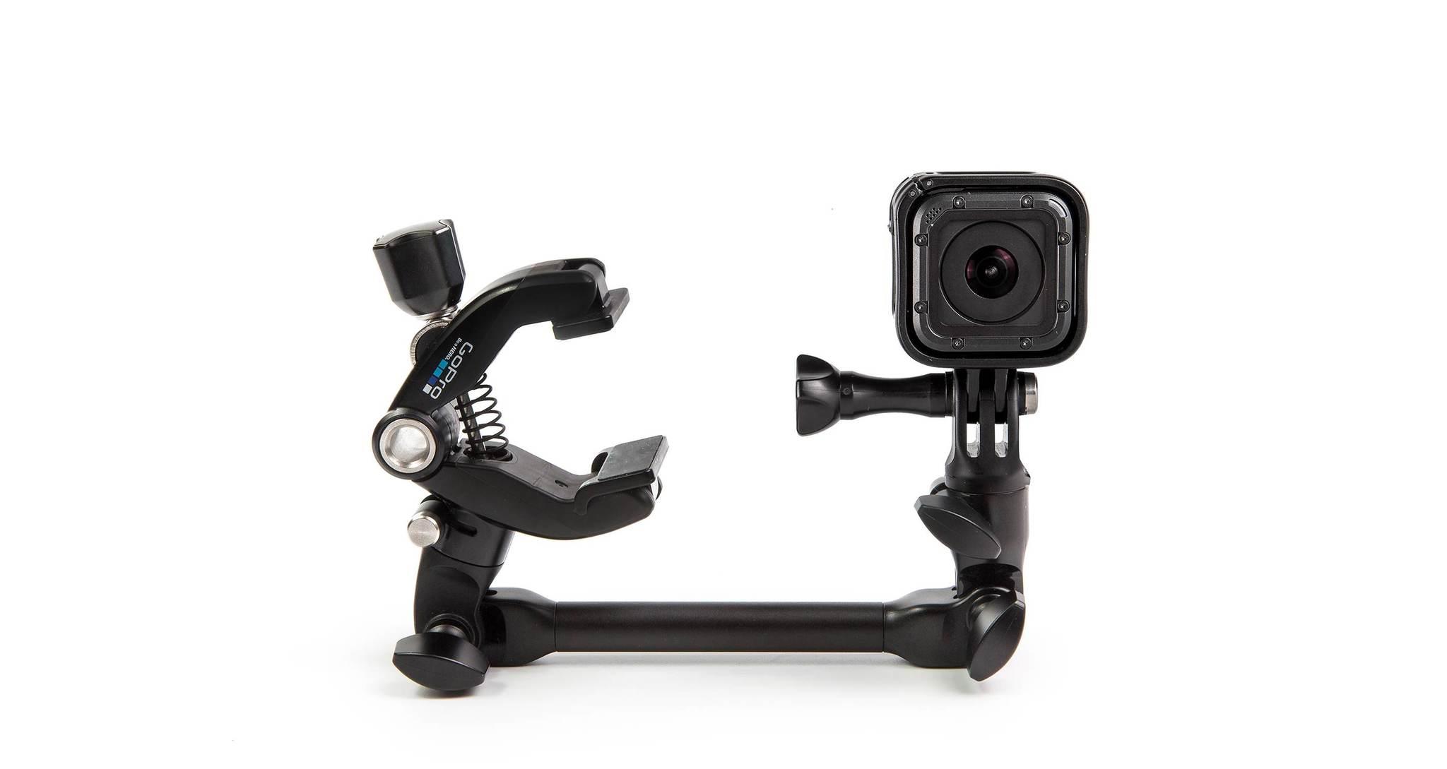 Крепление для музыкальных инструментов GoPro AMCLP-001 The Jam-Adjustable Music вид с камерой session