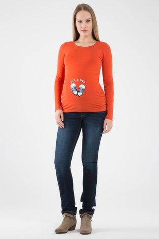 Футболка 06967 оранжевый