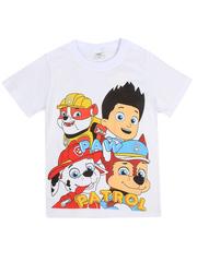 D002-1 футболка для мальчиков, белая
