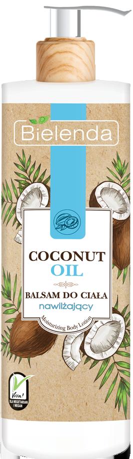 COCONUT OIL Увлажняющий бальзам для тела Кокос, 400 мл