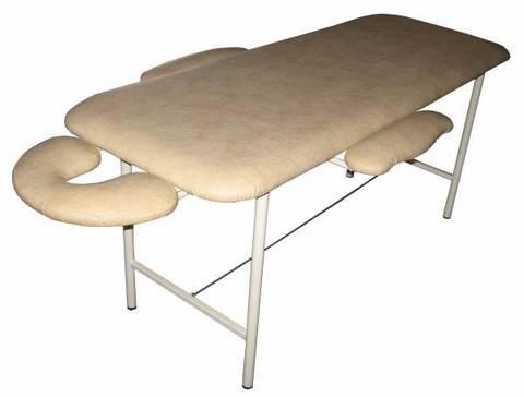 Массажный стол 1008 с подлокотниками и выдвижным подголовником для лица