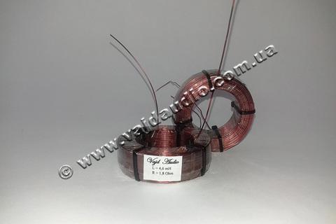 Катушка индуктивности Vajd Audio  4,6 mH*  1,8 Оhm* 0,8 mm
