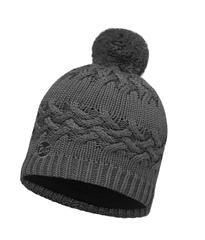 Вязаная шапка с флисовой подкладкой Buff Savva Grey Castlerock