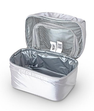 Сумка-холодильник (термосумка) для косметики  Pop Top Dual Blue, 6.5L