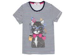 6200-7 футболка детская, бело-синяя