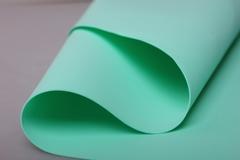 Фоамиран 60*70см 0,8мм 1 лист. мятный 24