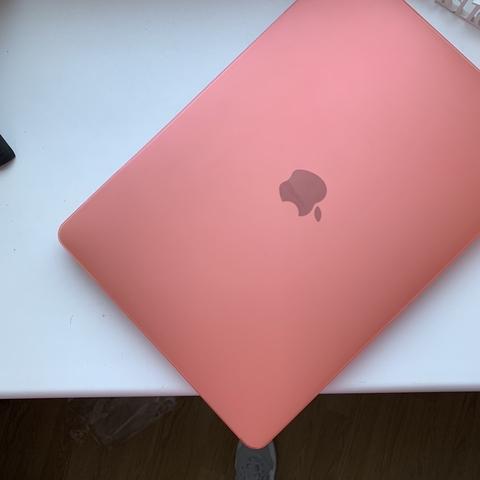 Накладка пластик MacBook Pro 13,3 Retina /matte pink/