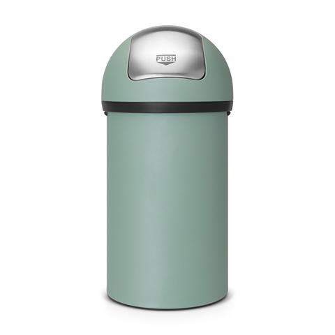 Мусорный бак Push Bin (60 л), Минерально-мятный, арт. 402661 - фото 1