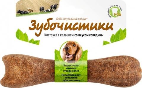 ЗУБОЧИСТИКИ Лакомство жевательное для собак средних пород со вкусом Говядины
