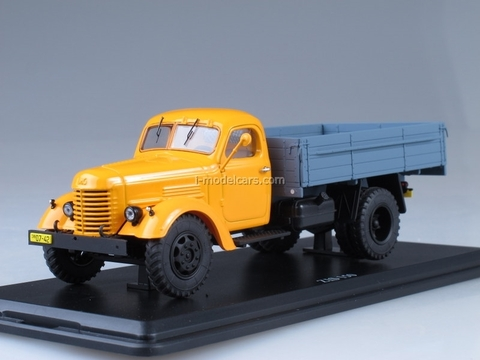 ZIS-150 board yellow-blue Start Scale Models (SSM) 1:43