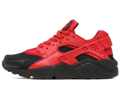 Кроссовки Мужские Nike Air Huarache Premium Red Black