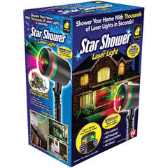 Star Shower Laser Light Projector