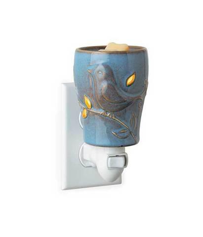 Аромасветильник розеточный Голубая птица, Candle Warmers