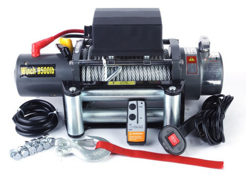 Лебедка Electric Winch 9500 lbs/4000kg 12v влагозащита IP68