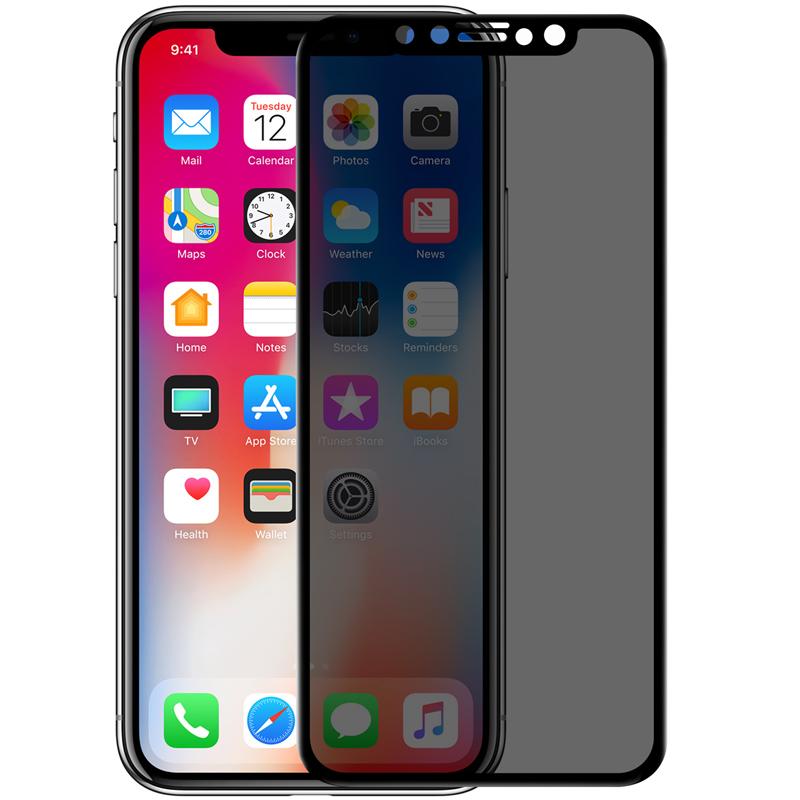 Защитные стекла Защитное стекло Nillkin для Apple iPhone X / XS - 3D AP+MAX Privacy 2.jpg