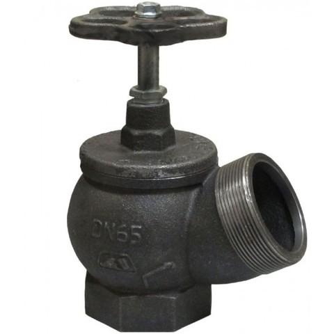 Клапан РПТК-65-2 муфта/цапка чугун угловой