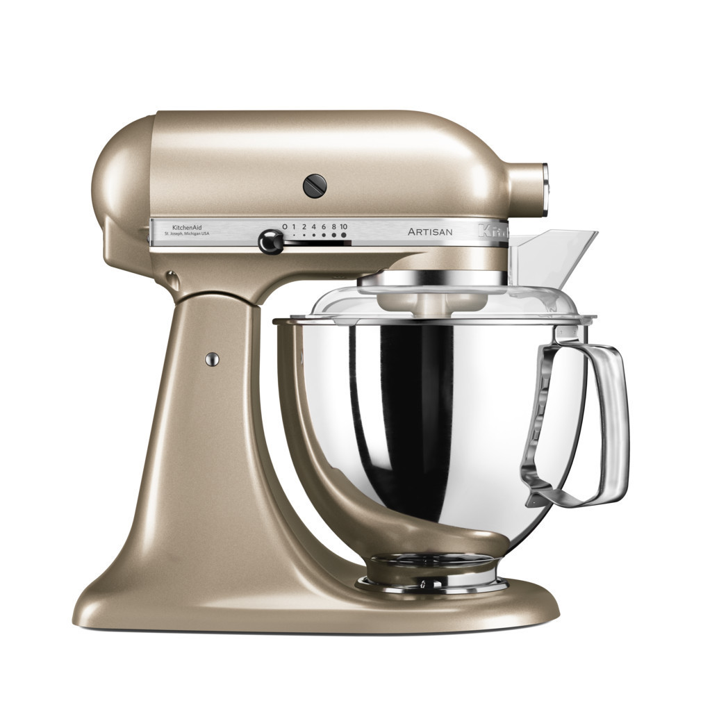 Миксер KitchenAid Artisan планетарный золотой нектар 5KSM175PSECZ