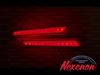 LED катафоты Honda Odyssey 2009 белые