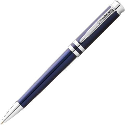 FranklinCovey Freemont - Blue Chrome, шариковая ручка, M, BL