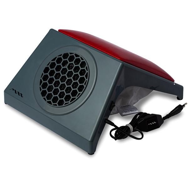 Настольная вытяжка для маникюра MAX Ultimate 4 Серый (65Вт max), с подушкой RED фото