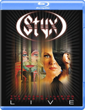 Styx / The Grand Illusion, Pieces Of Eight - Live (Blu-ray)