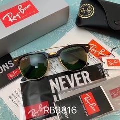 Очки Ray Ban Clubmaster RB3816 Black