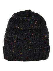 HT1813-1 шапка женская, черная