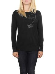 MS1728-3 кофта женская, черный