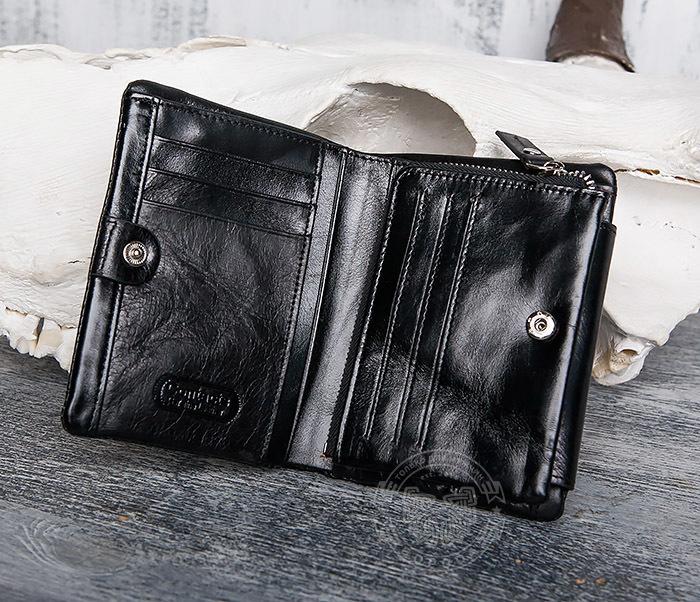 WL280-1 Вместительный мужской кошелек с монетницей фото 05