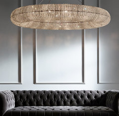 Crystal Halo Chandelier 59