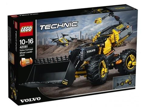 LEGO Technic: Volvo колёсный погрузчик ZEUX 42081 — Volvo Concept Wheel Loader ZEUX — Лего Техник