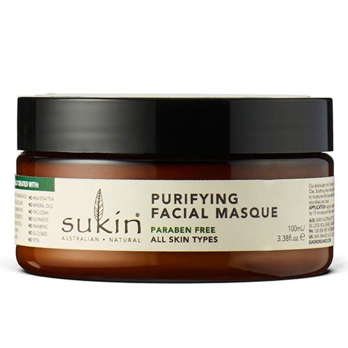 Очищающая маска для лица, Sukin