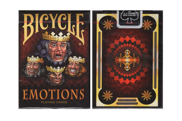 Карты Bicycle Emotions купить